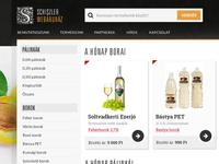 Wine and palinka webshop