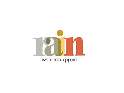 Rain logo - Women's apparel