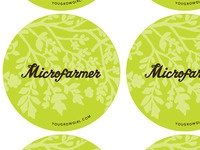 Microfarmer Buttons