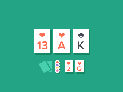 Secret Flat Thing flat poker game design ui ux iphone ios 7 ios7