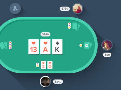 Flat Poker? Why not!