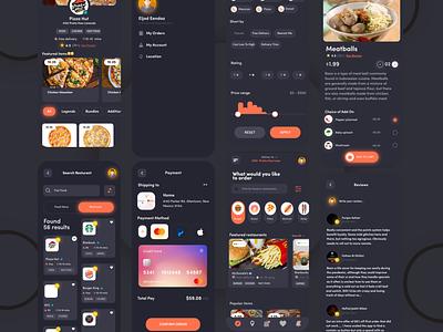 food app ui app design ui