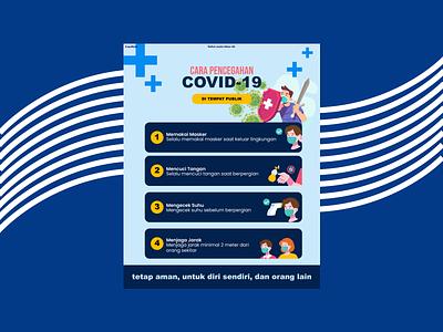 infographic covid-19 illustration design poster