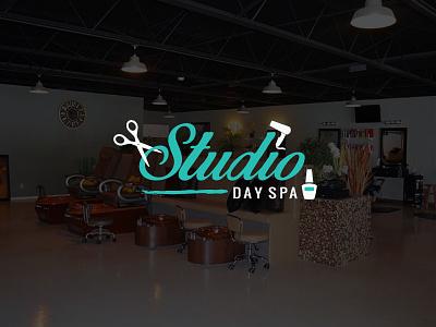Studio Day Spa logo logo design small business southern illinois