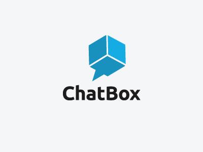 Chatbox logo chat logo finland software minimalist