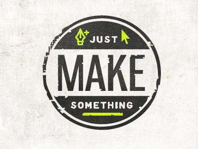 Make Something inspiration icon logo
