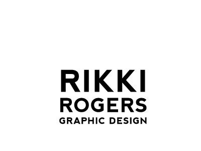 Graphic Design Logo graphic designer logo minimalist stacked simple sans serif