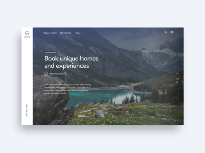 Alps Travel - Landing Page