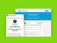 Classdojo Engineering Blog Design