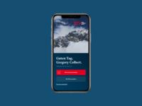 Banking App Login