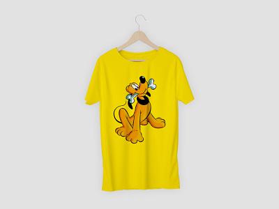 Dog t shirt logo branding vector illustration design t shirt