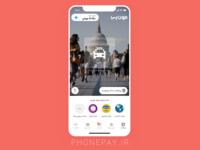 Phonepay - Iranian Payment App - Home