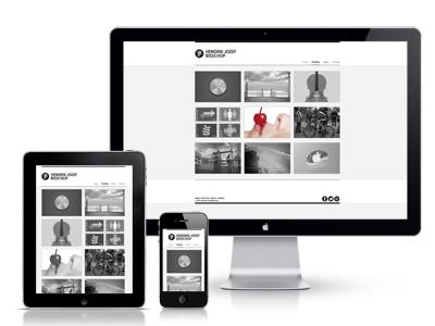 Responsive Layout responsive web portfolio mobile