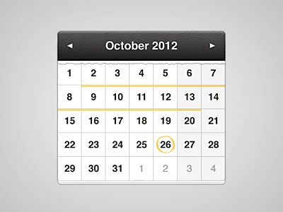 Calendar  calendar october 2012 filmfestival date year leather