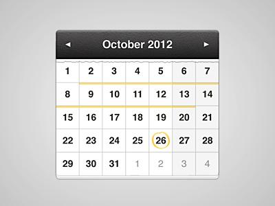 Calendar  calendar october 2012 filmfestival date year leather