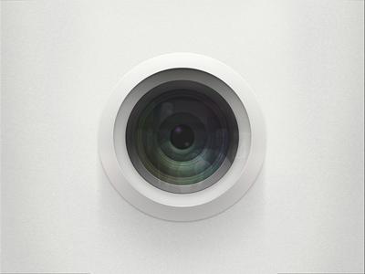 Door Camera  camera door lens peephole reflection
