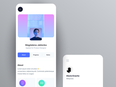 Clever - Dashboard UI Kit Mobile Screens gradient dashboard kit uikit components sell detail detail screen log in screen trendy uidesign clever clean 3d mobile uiux mobile ui application dashboard mobile figma 3d