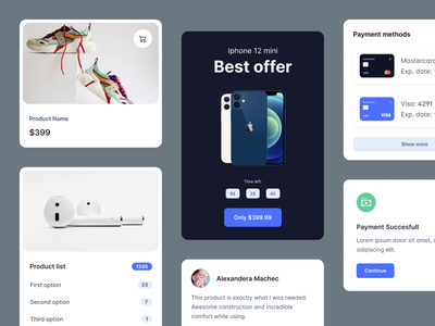 Bootstrap 5 Components - Webpixels bootstrap list cards application dashboard components ui