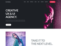 Homepage - Creative Agency - Pt. I