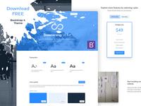 Boomerang UI Kit Free - Bootstrap 4 Theme