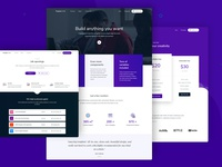 Business Landing Page and Inner Pages - Purpose Website UI Kit