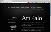 aripalo.fi redesign
