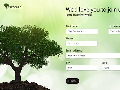 TREE-SURE design branding ui