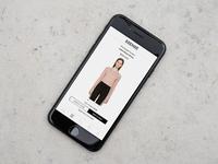 Ssense mobile concept