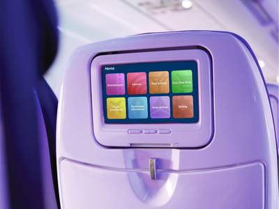fit-all in air entertainment systems airline delta travel passenger airbus boeing entertainment system airplane air