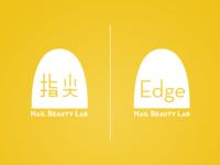 Edge Nail&Beauty Lab Branding Identity