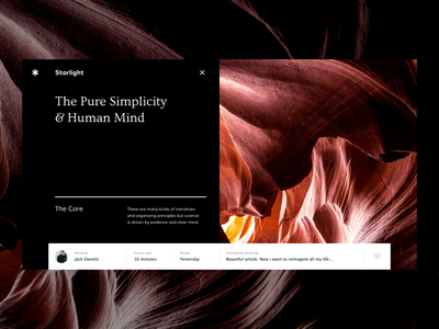 Article сover exploration web black abstract typography magazine news journal article cover