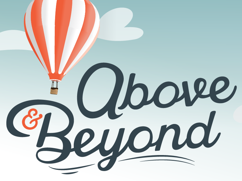 Above beyond by keanu belson dribbble for Above and beyond