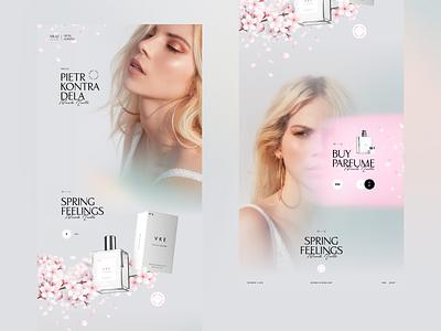 Mullu | Parfume woman parfume design layout modern ux clean web