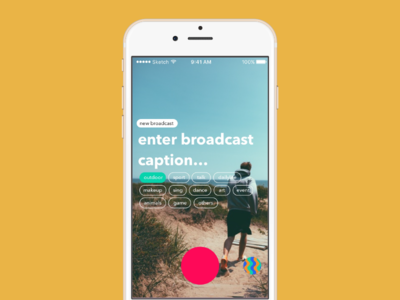 live.ly homepage