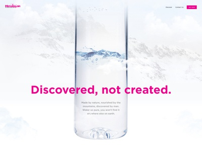 Himalaya Web Product Page