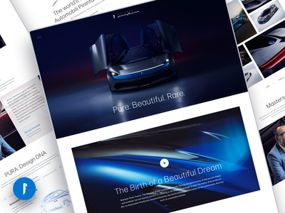 Automobili Pininfarina Website Design