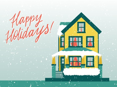 A Christmas Story House movies ovaltine illustrator design midwest cleveland illustration holiday christmas story