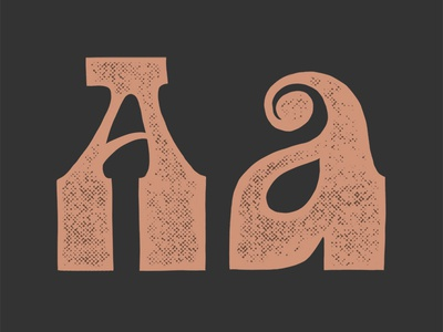 A - 36 Days of Type alphabet type typography lettering 36days-a 36daysoftype