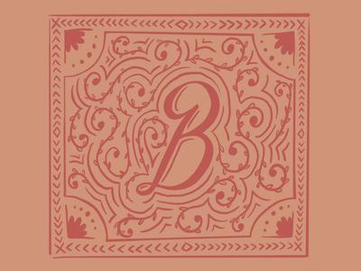 B - 36 Days of Type alphabet type typography lettering 36days-b 36daysoftype