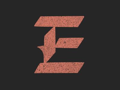 E - 36 Days of Type type lettering typography alphabet 36daysoftype 36days-e