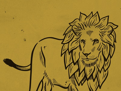 Hops Lion WIP gold local midwest cleveland beer brewing brewery mane hops lion