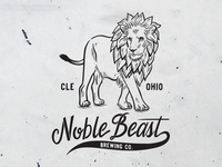 Hops Lion for Noble Beast Brewing Co.