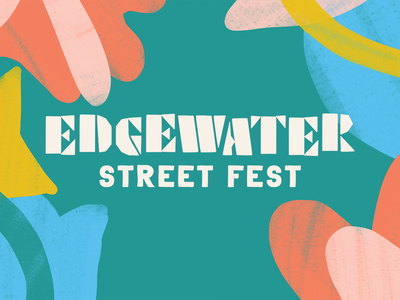 Edgewater Street Fest Branding event identity festival brand brand identity branding hand lettering cleveland design typography type lettering