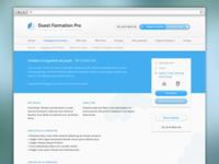OFP website – formation details
