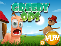 Greedy Ops game : splash screen 01