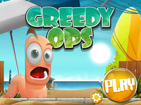 null Greedy Ops game : splash screen 02