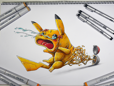 Pikachu get catch game design pokemon go manga pokeball pikachu pokemon