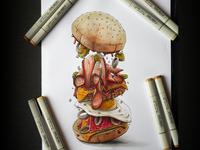 DGKS blast burger