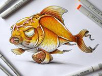 Quaterback Goldfish