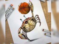 Crab Dunk (Dunk or Die)